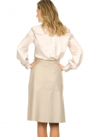 Dante 6 |  Blouse with bow Rodeo | beige  | Picture 5