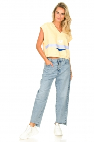 7 For All Mankind |  Mom fit jeans Dylan | light blue   | Picture 2