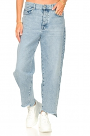 7 For All Mankind |  Mom fit jeans Dylan | light blue   | Picture 4