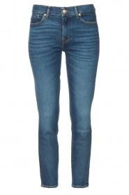 7 For All Mankind |  Ankle lenght jeans Roxanne | blue  | Picture 1