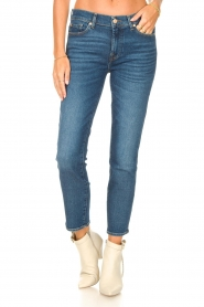 7 For All Mankind |  Ankle lenght jeans Roxanne | blue  | Picture 5