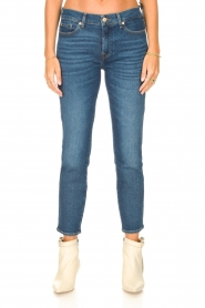 7 For All Mankind |  Ankle lenght jeans Roxanne | blue  | Picture 4