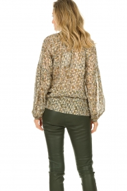 Dante 6 |  Blouse with lurex | beige  | Picture 5