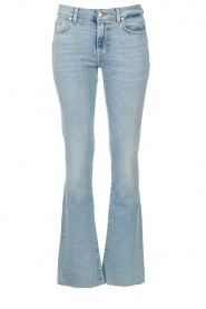 7 For All Mankind |  Bootcut luxe vintage jeans Rejoice | light blue  | Picture 1