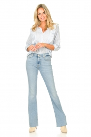 7 For All Mankind |  Bootcut luxe vintage jeans Rejoice | light blue  | Picture 2