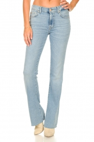 7 For All Mankind |  Bootcut luxe vintage jeans Rejoice | light blue  | Picture 4