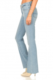 7 For All Mankind |  Bootcut luxe vintage jeans Rejoice | light blue  | Picture 5