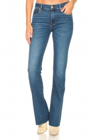 7 For All Mankind |  Bootcut luxe vintage jeans Rejoice | blue  | Picture 4
