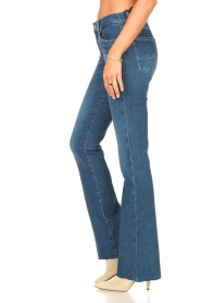 7 For All Mankind |  Bootcut luxe vintage jeans Rejoice | blue  | Picture 5