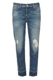 7 For All Mankind | Boyfriend jeans Asher | blauw  | Afbeelding 1