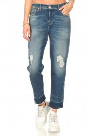 7 For All Mankind | Boyfriend jeans Asher | blauw  | Afbeelding 4