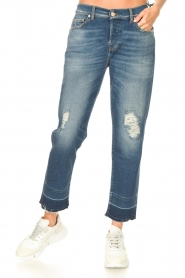 7 For All Mankind | Boyfriend jeans Asher | blauw  | Afbeelding 5