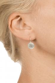Betty Bogaers | 925 sterling zilver oorbellen Ten cent | Zilver  | Afbeelding 3