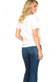 Nenette |  T-shirt with print Dresda | white  | Picture 6