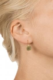 Betty Bogaers | 14k verguld gouden oorbellen Ten cent | Goud  | Afbeelding 3