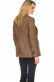 Set |  Blazer with houndstooth print Bello | brown  | Picture 6