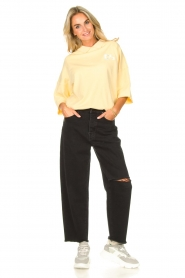 7 For All Mankind |  Mom fit jeans Dylan | black  | Picture 2