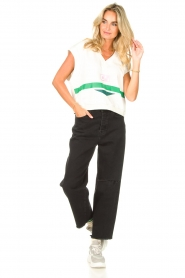 7 For All Mankind |  Mom fit jeans Dylan | black  | Picture 3