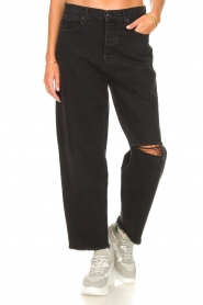 7 For All Mankind |  Mom fit jeans Dylan | black  | Picture 4