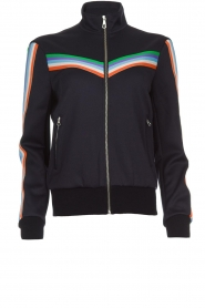 Set |  Jacket with sporty stripes Emily | blue  | Picture 1