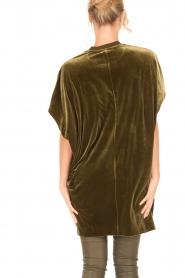 By Malene Birger | Velvet jurk Nitrak | groen  | Afbeelding 4