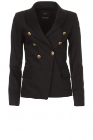 Set |  Double-breasted blazer Jenthe | black  | Picture 1