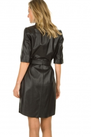 Dante 6 |  Leather dress Baroon | black  | Picture 5