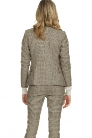 Set |  Houndstooth blazer Louise | brown  | Picture 6