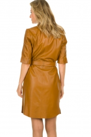 Dante 6 |  Leather dress Baroon | camel  | Picture 5