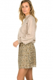 Dante 6 |  Sweater with balloon sleeves Valkon | beige  | Picture 6