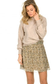 Dante 6 |  Sweater with balloon sleeves Valkon | beige  | Picture 4