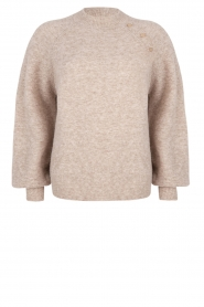 Dante 6 |  Sweater with balloon sleeves Valkon | beige  | Picture 1