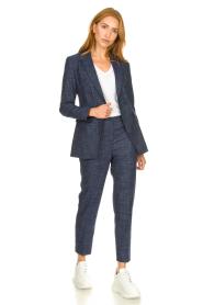 Nenette |  Denim trousers Eufemia | blue  | Picture 2