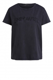 Set |  Basic T-shirt with imprint Poy | black  | Picture 1