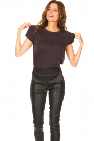 Set |  Basic T-shirt with imprint Poy | black  | Picture 2