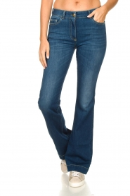 Nenette |  Flared jeans Sentinel | blue  | Picture 4