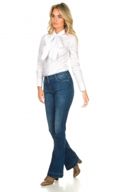Nenette |  Flared jeans Sentinel | blue  | Picture 2