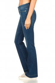 Nenette |  Flared jeans Sentinel | blue  | Picture 5