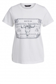 Set |  Basic T-shirt with imprint Tess | white  | Picture 1
