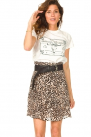 Set |  Basic T-shirt with imprint Tess | white  | Picture 5