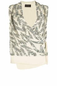 By Malene Birger | Paillettentop Tatuka | off white  | Afbeelding 1
