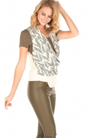 By Malene Birger |  Sequin top Tatuka | off white  | Picture 4