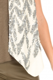 By Malene Birger |  Sequin top Tatuka | off white  | Picture 6