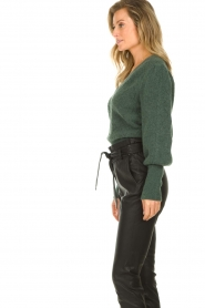 Dante 6 |  Knitted ajour sweater Sylias | green  | Picture 5