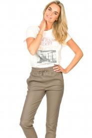 Set    Cotton T-shirt with imprint Karina   white    Picture 4