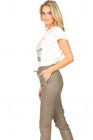 Set    Cotton T-shirt with imprint Karina   white    Picture 5