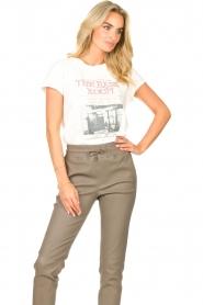 Set    Cotton T-shirt with imprint Karina   white    Picture 2