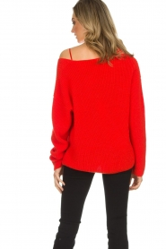 Set |  Knitted sweater Serena | red  | Picture 5