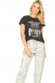 Set    Cotton T-shirt with imprint Karina   black    Picture 2