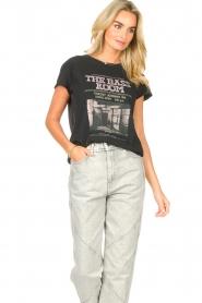 Set    Cotton T-shirt with imprint Karina   black    Picture 4